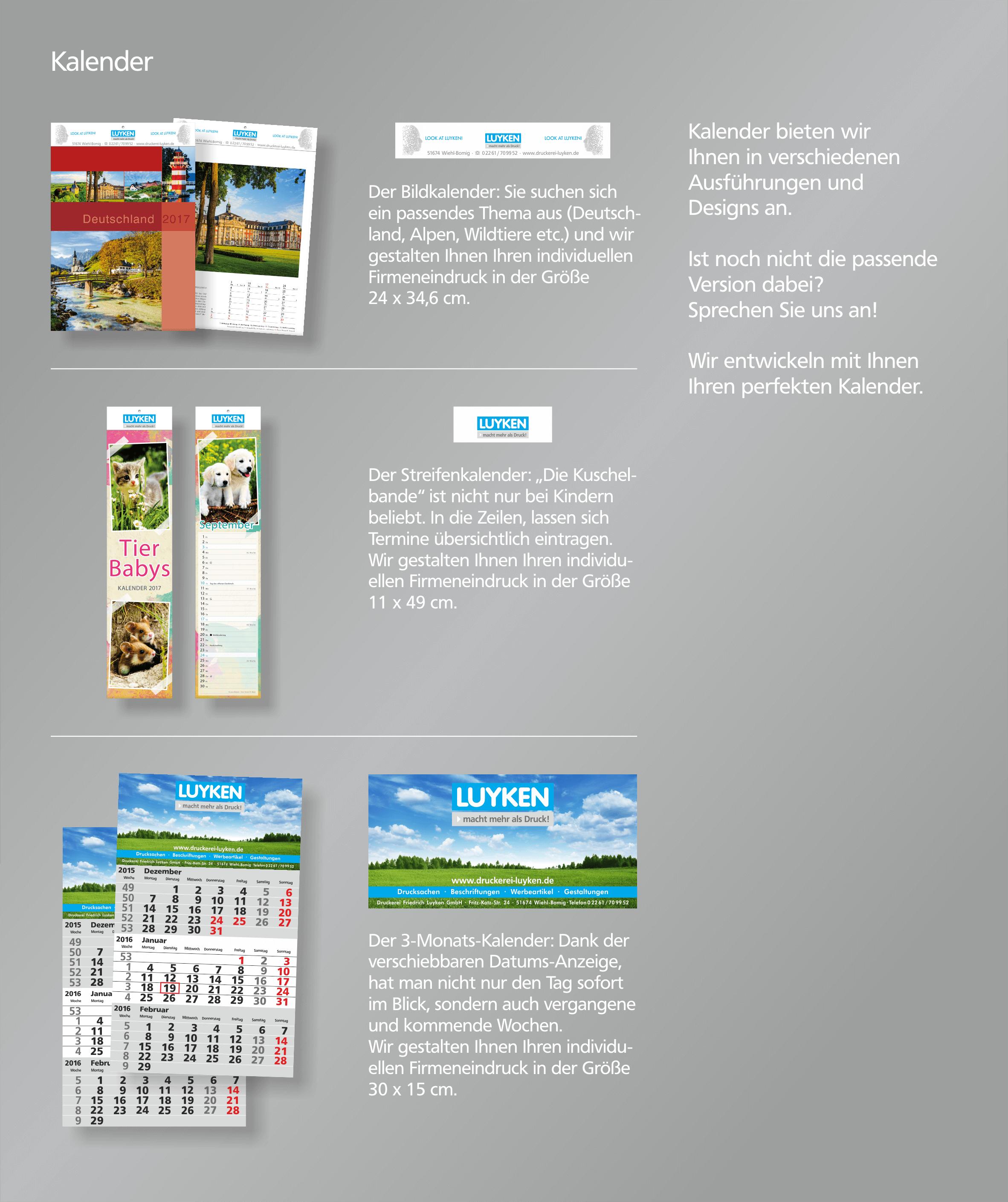 Kalender Gestalten Layout Und Grafikdesign